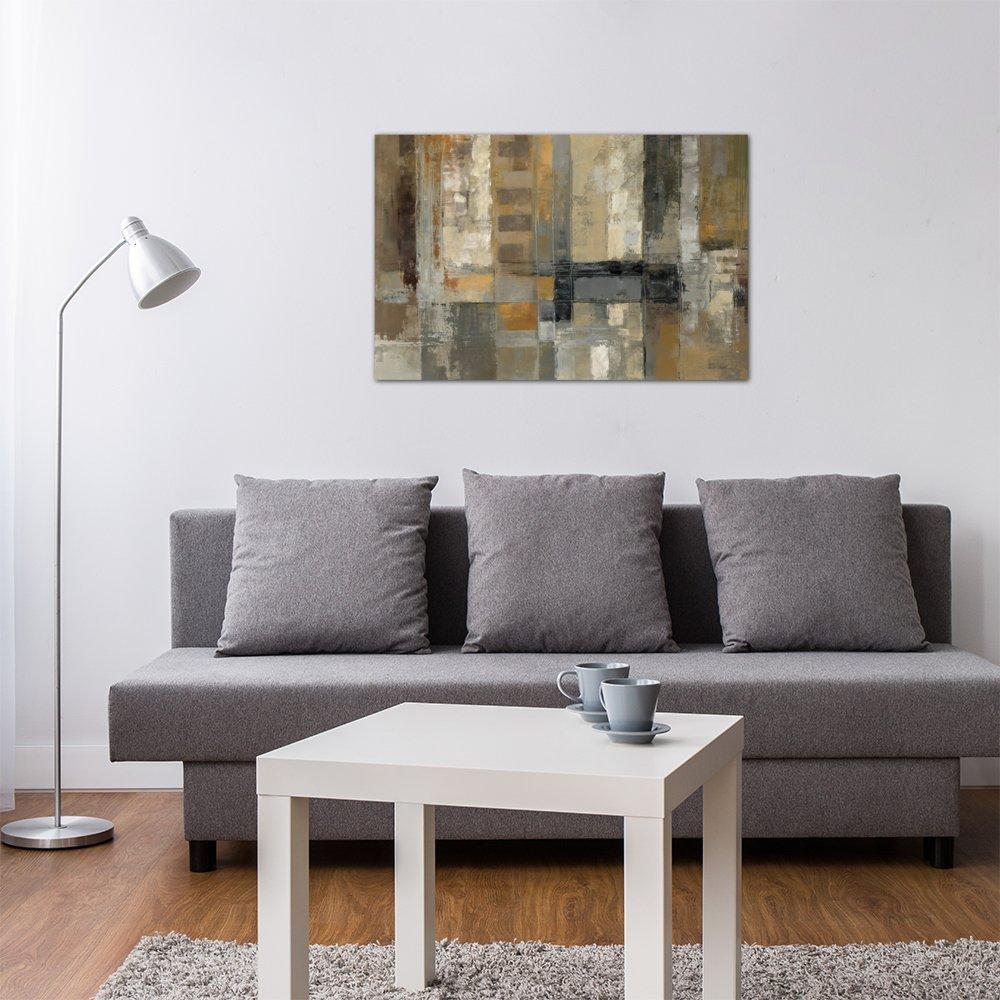 Global Gallery Elyse DeNeige Antlers and Poppies II Sq Canvas Artwork 30 x 30