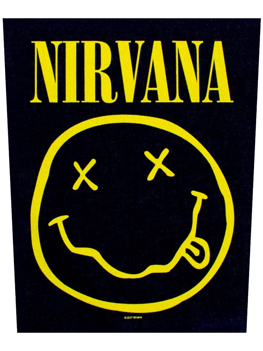 Nirvana placa Vivigade parche Smiley 29x 36cm Razamataz