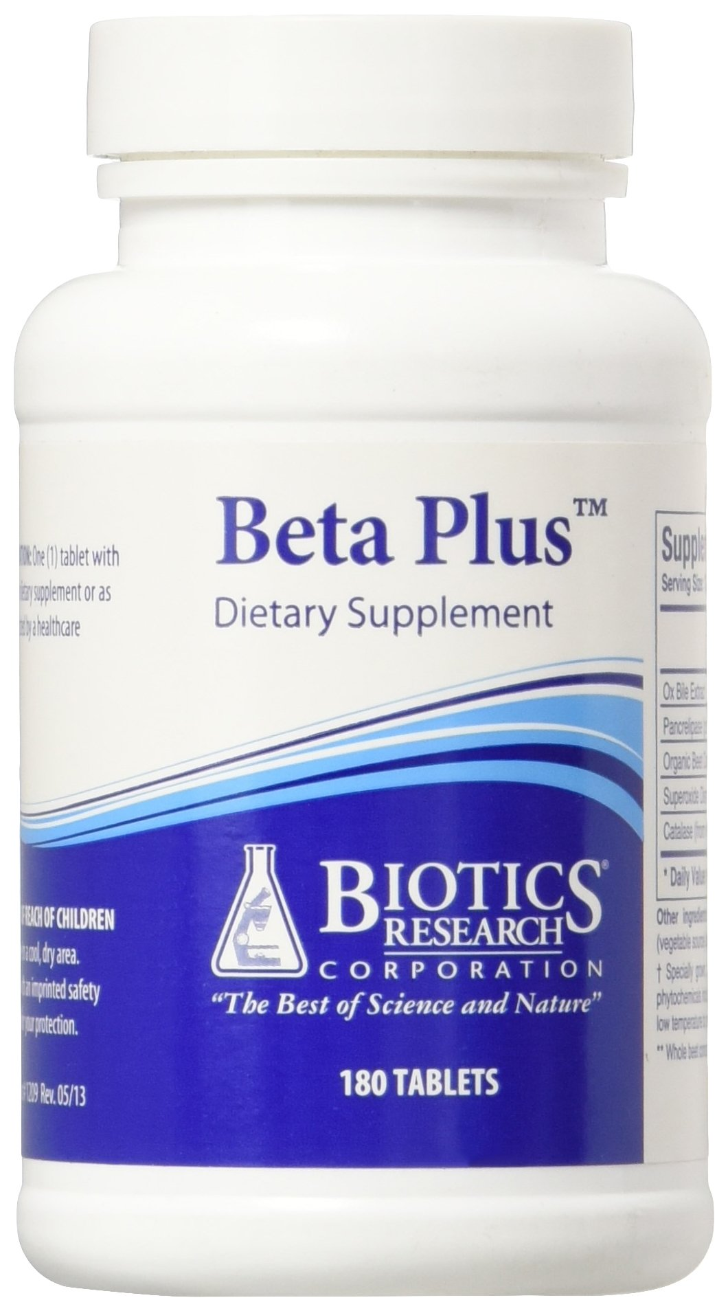 Biotics Research Beta-Plus™ Nutritional Support for Bile Production, Supports Overall Liver Function. Aids in Fat Digestion. Supplies Betaine (Organic Beet Concentrate)