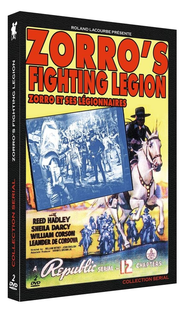 Zorros Fighting Legion 2dvd Collection Serial Amazoncouk Dvd