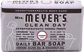product image for Mrs Meyers Bar Soap Lavender 5.3 Ounce (156ml) (2 Pack)