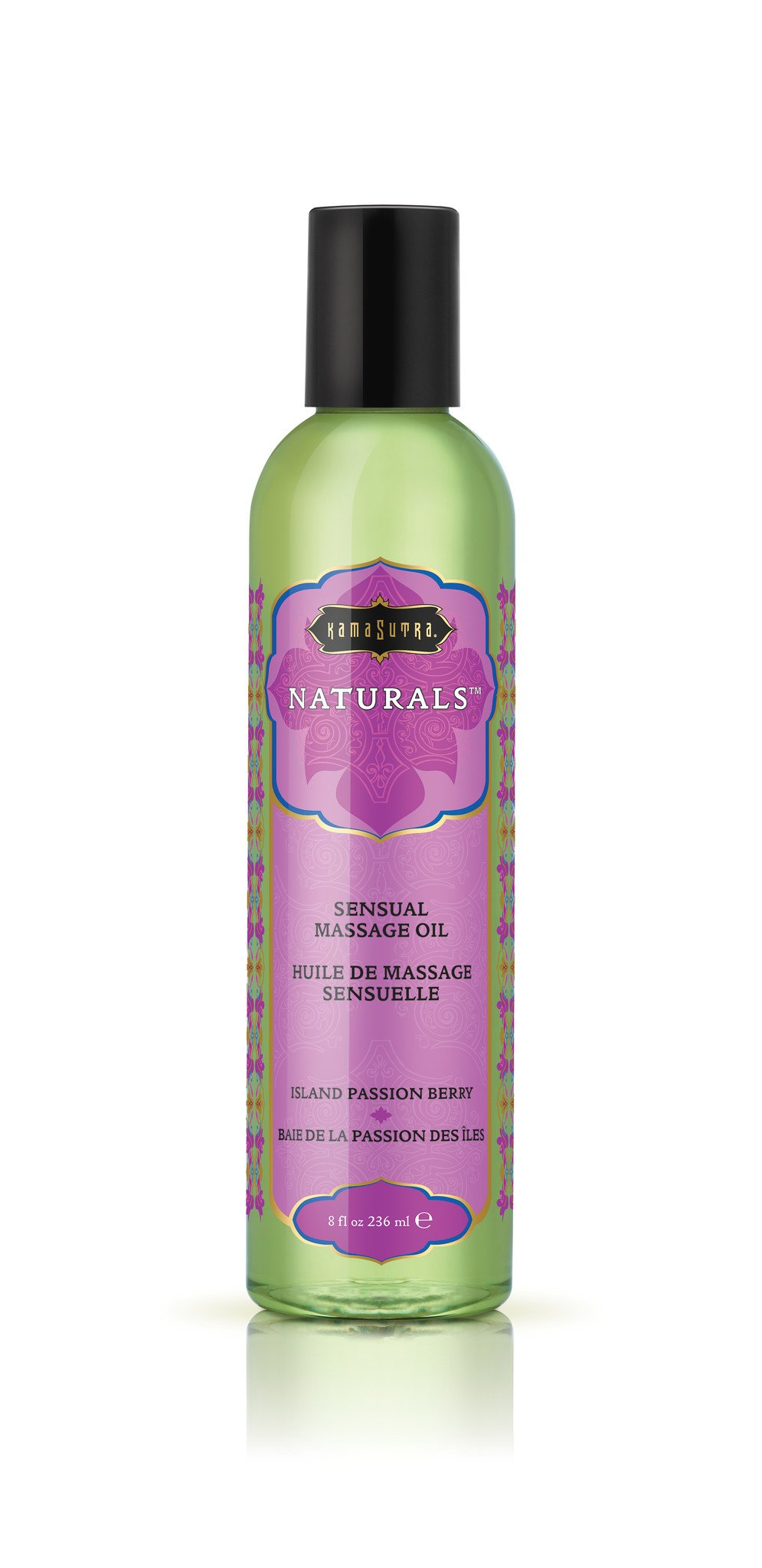 Kama Sutra Naturals Massage Oil Island Passion Berry, 8 Fluid Ounce by Kama Sutra