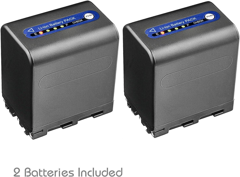 LCD Dual Quick Battery Charger for Sony DCR-TRV280 DCR-TRV380 DCR-TRV480 Handycam Camcorder