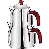 Taç Evita 3 Litre Çaydanlık Kırmızı