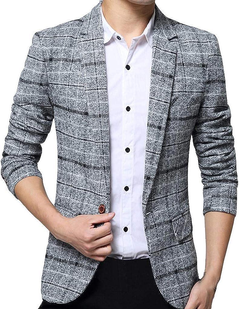 2019 Women/'s One Button Slim Casual Business Blazer Suit Jacket Coat Outwear
