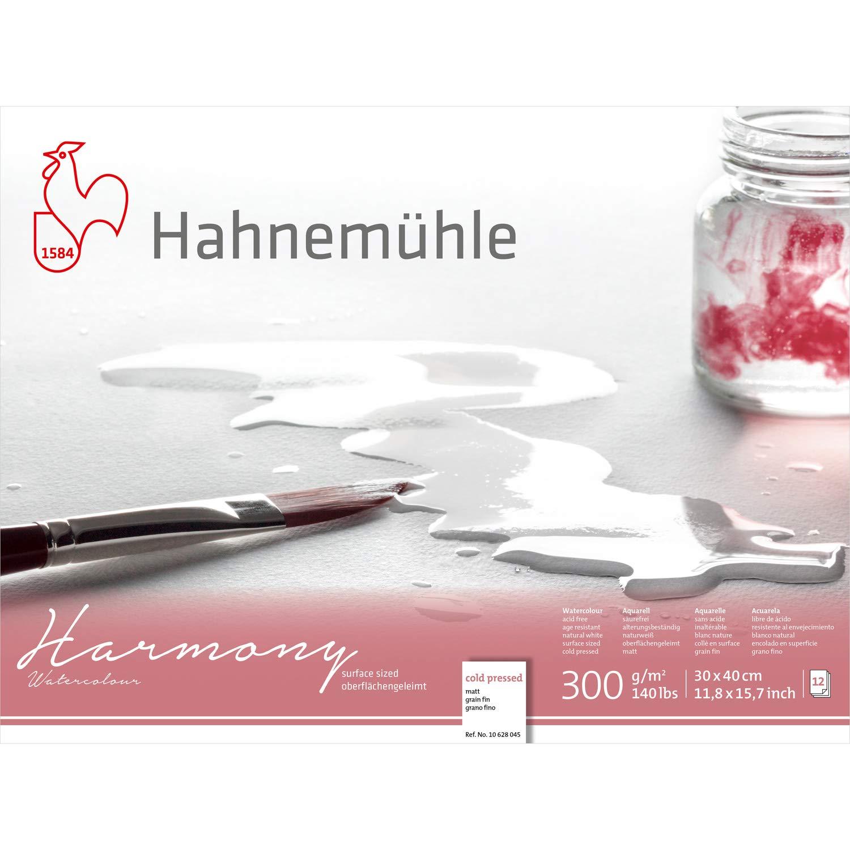 Hahnemuhle Hahnemuhle Hahnemuhle Harmony Watercolour Block,12 Sheets, 30x40cm NOT B07FQSJBQT | Elegantes Aussehen  d872fa