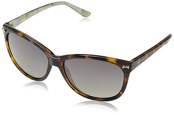 Ted Baker Sunglasses Raine, Gafas de Sol para Mujer, Marrón ...