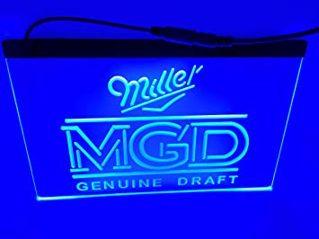 Amazon.com: Blue Miller mgd - Cartel con luz led para bar ...