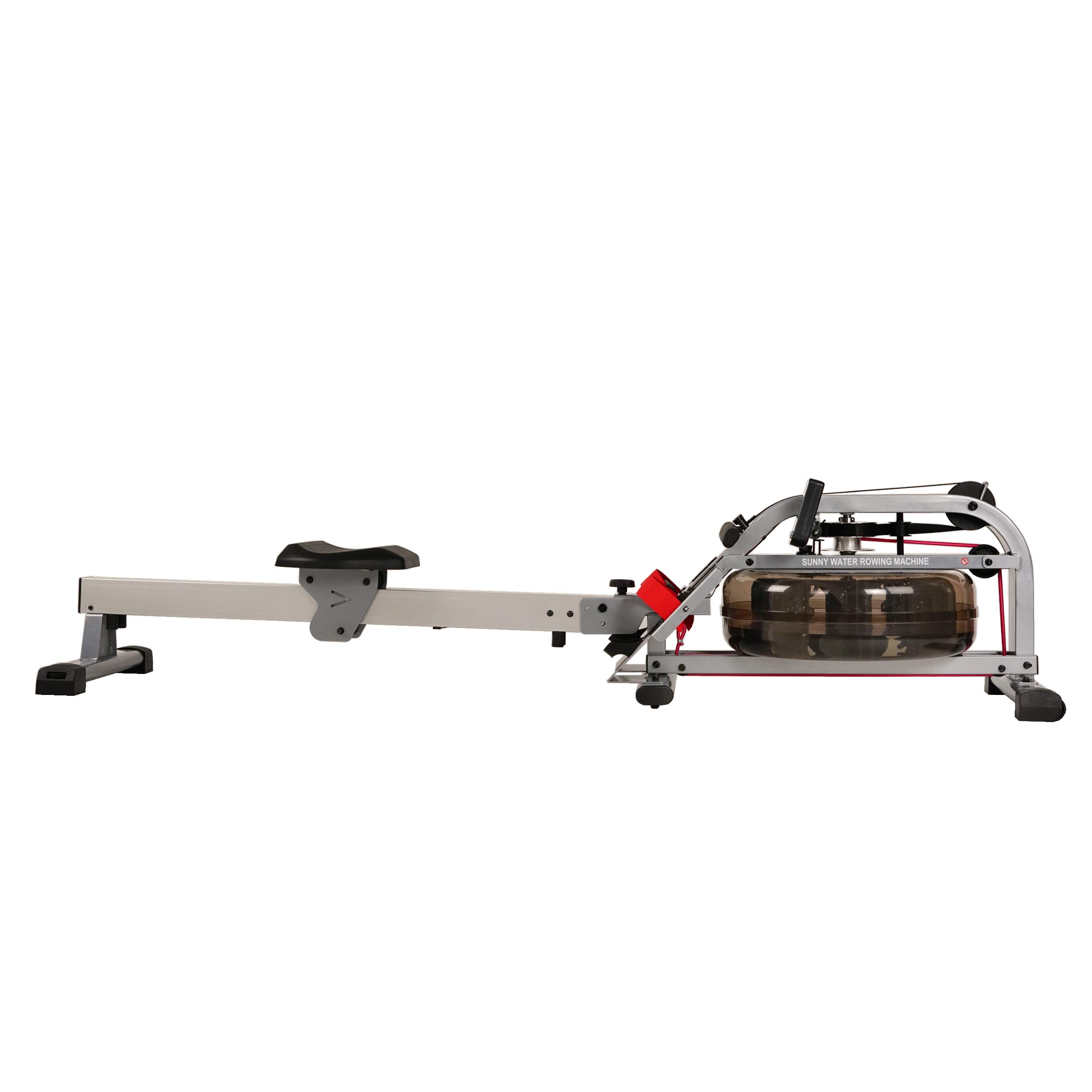Sunny Health & Fitness Water Rowing Machine Rower w/LCD Monitor - SF-RW5866 by Sunny Health & Fitness (Image #12)