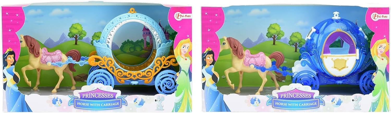 toi-toys–caballo con carroza 2varios figura, 12780z, multicolor , color/modelo surtido