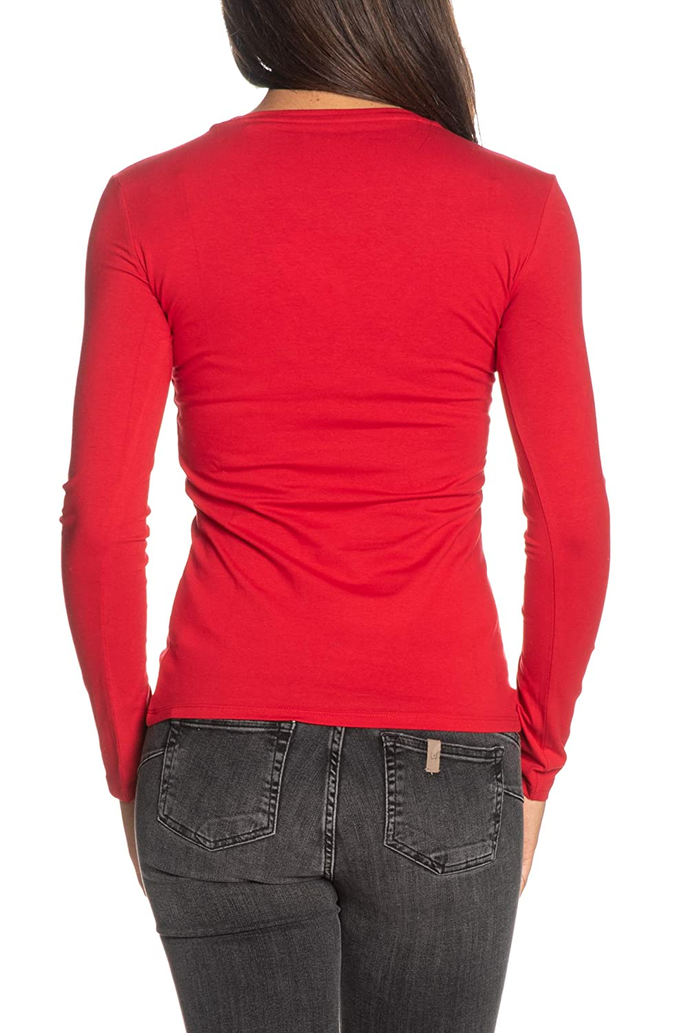 Guess T-Shirt Manica Lunga Donna Roses Tee Color w93i90 j1300