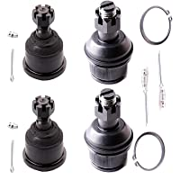 3. ECCPP Front Upper Lower Ball Joints Assembly for Dodge Ram 1500 2500 3500 2003-2014 (4Pcs)