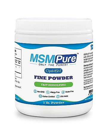 Kala Health MSMPure Fine Powder, Fast Dissolving Organic Sulfur Crystals,  99% Pure Distilled MSM