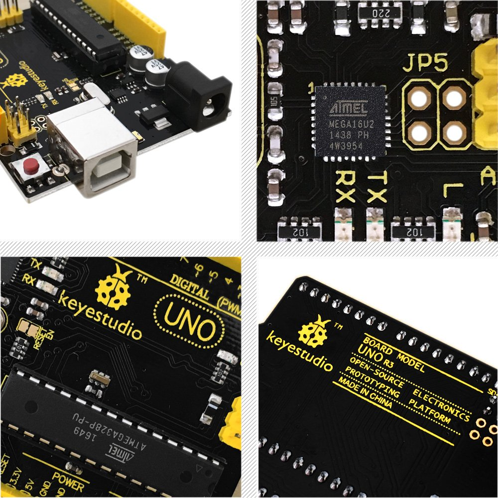 Keyestudio Uno R3 Board Compatible Arduino Pin Printed Circuit China Electronic And Digital Products On Ide Usb Cable Computers Accessories