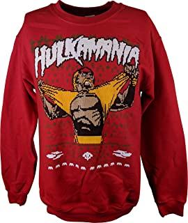 Amazoncom Ultimate Warrior Wwe Ugly Christmas Mens Sweater