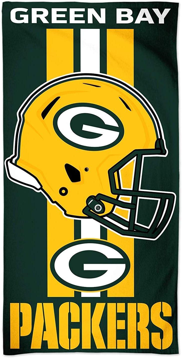 150 x 75 cm dise/ño de los Green Bay Packers Toalla para playa McArthur A1874513