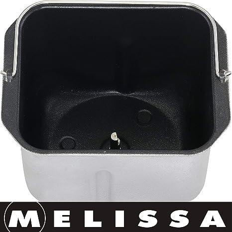Melissa 16260010 - Panificadora (con preparación automática de ...