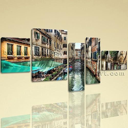Amazon.com: Extra Large Venice Canal Italy Wall Decor Painting ...