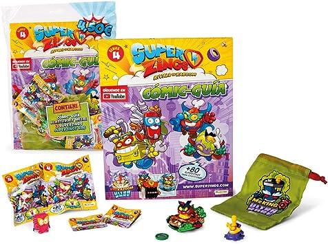 magicbox toys SuperZings IV - Starterpack (Varios Modelos): Amazon ...