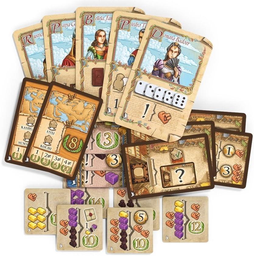The Voyages of Marco Polo: Venice Agents Expansion: Amazon.es: Juguetes y juegos