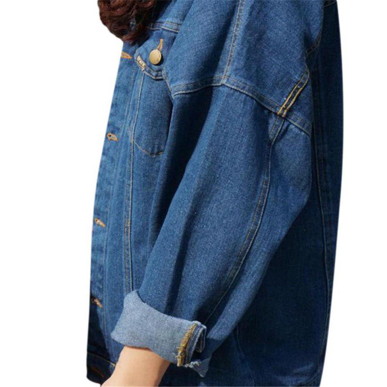 Amazon.com: Special Beauty Nice Vintage Denim Jacket Women ...