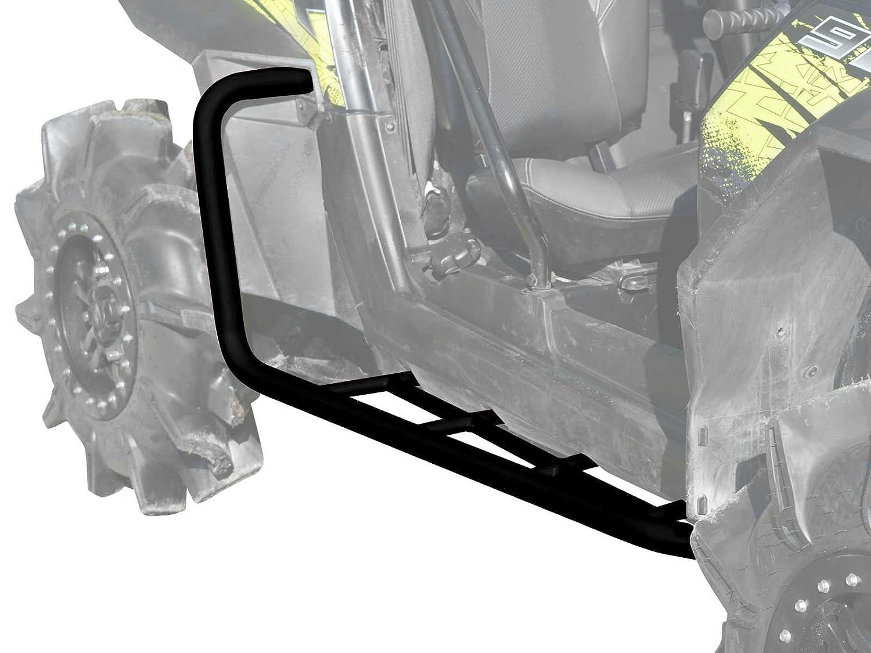 2011-2014 Wrinkle Black SuperATV Heavy Duty Rock Sliding Nerf Bars for Polaris RZR XP 900