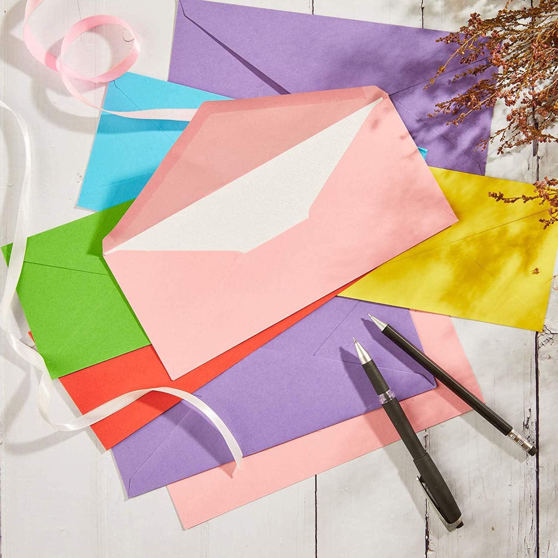 11,5 x 8 cm con chiusura adesiva Confezione da 140 buste Purely Everyday DL Business 14 colori 110 g//mq