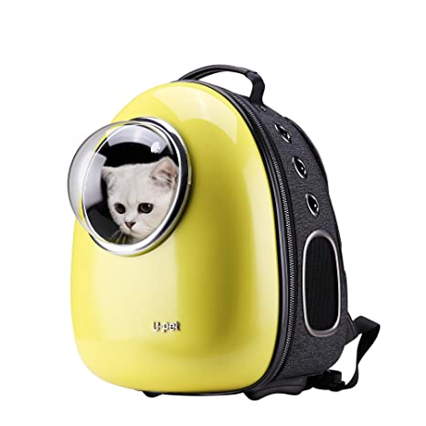 Buy Upet Bubble Design Cat Dog Puppy Pet Travel Backpack Carrier, Yellow  Online at Low Prices in India - Amazon.in af16676350