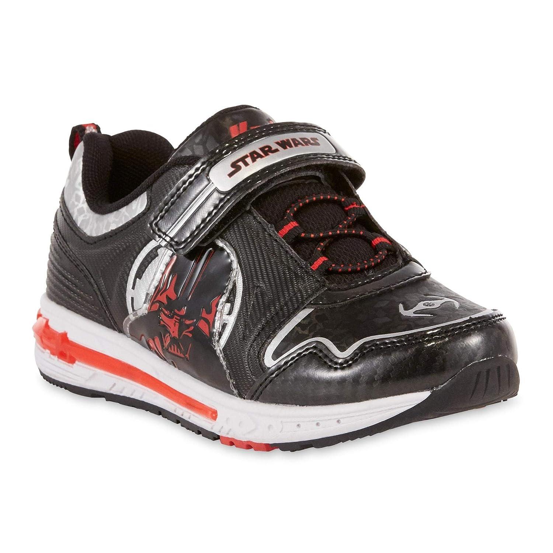 Star Wars Sneakers >> Amazon Com Lucasfilm Boys Star Wars Darth Vader Light Up Sneaker