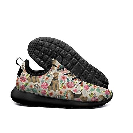 75d1827688db8 Amazon.com: SKULLP Corgi Hawaiian Corgi Dog Black Boys Sneakers for ...