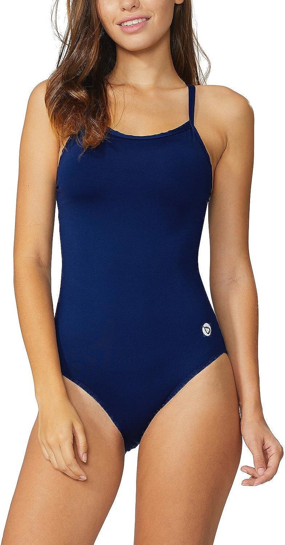 BALEAF Women's Athletic Training Adjustable Strap One Piece Swimsuit Swimwear Bathing Suit