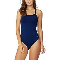b61ef8c45761b ... Baleaf Women's Athletic Training Adjustable Strap One Piece Swimsuit  Swimwear Bathing ...