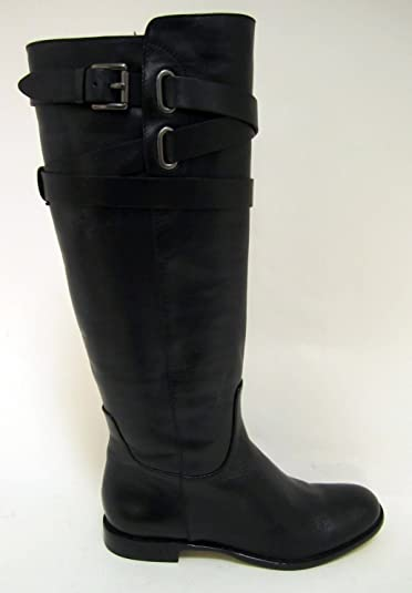 bf034bb527 Amazon.com | Coach Women's Boot Cayden Smooth Nappa Leather Black ...