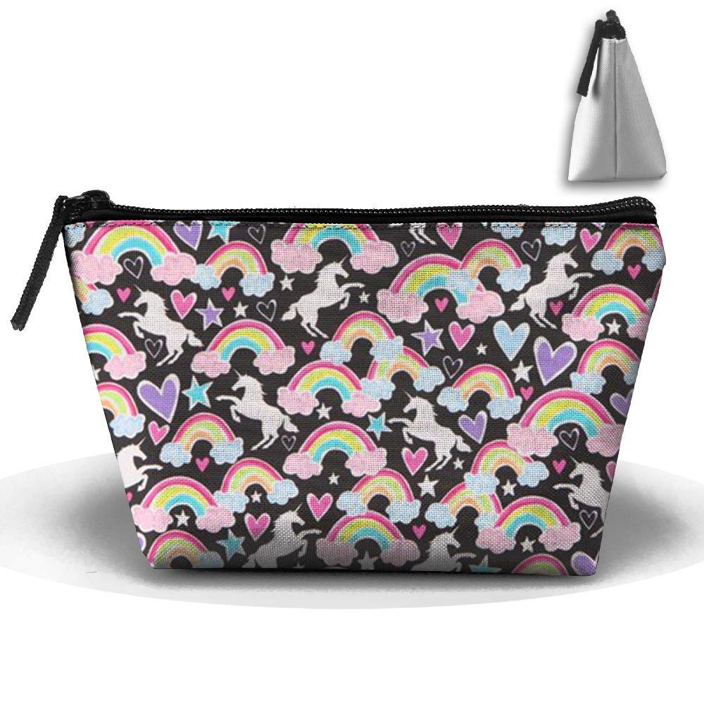 fcc1942a2ee0 Beautiful Rainbow.JPG Personality Portable Women Trapezoid Travel ...