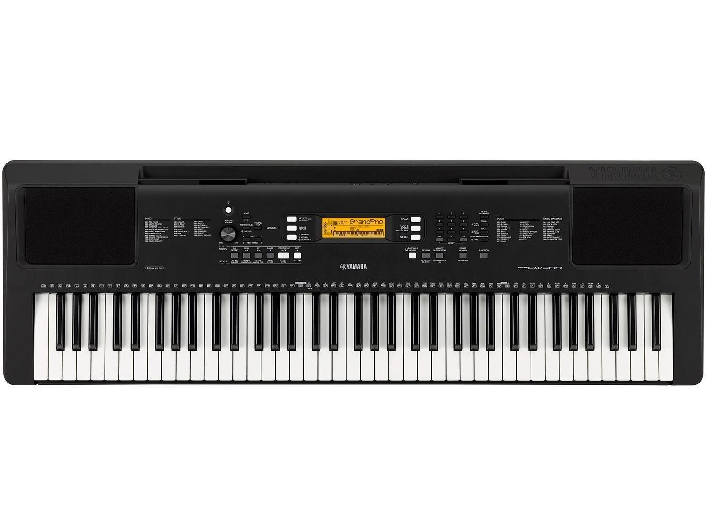 Yamaha PSR-EW300 76-Key Portable Keyboard (power adapter sold separately) by YAMAHA