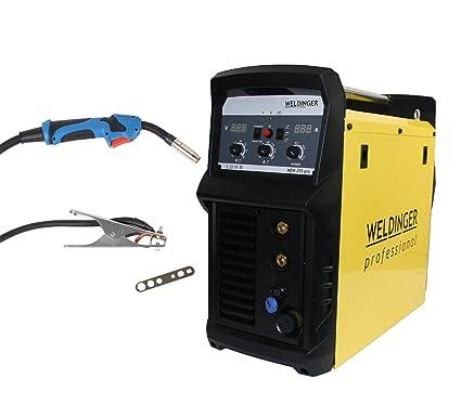 weldinger de Mig Mag de sudor Inverter mew 255 Pro Dispositivo ...
