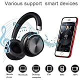 Wireless Gaming Headset, DIWUER Bluetooth Over-Ear Headphone Built-in Microphone Noise Cancelling for PS4 Xbox PC Computer Mac Laptop iPhone Smartphone
