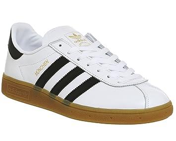 new concept 112fb 10f65 adidas Munchen Bb2778 - Zapatillas Deportivas para Hombre, Hombre, BB2778,  Blanco Negro, Size UK 10.5  Amazon.es  Deportes y aire libre
