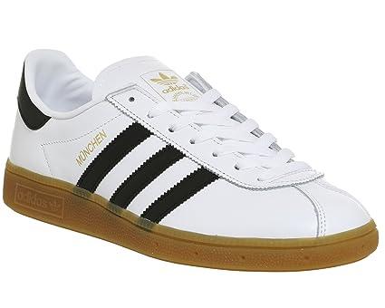 size 40 26c38 03828 adidas Munchen Bb2778 - Zapatillas Deportivas para Hombre, Hombre, BB2778,  Blanco Negro