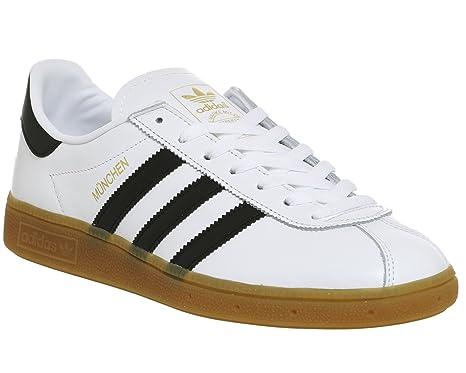 Herren Low SneakersWeißschwarz Adidas Top München MUzpGVqS
