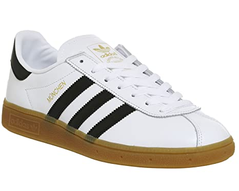 Adidas Munchen Bb2778 - Zapatillas Deportivas para Hombre, Hombre, BB2778, Blanco/Negro