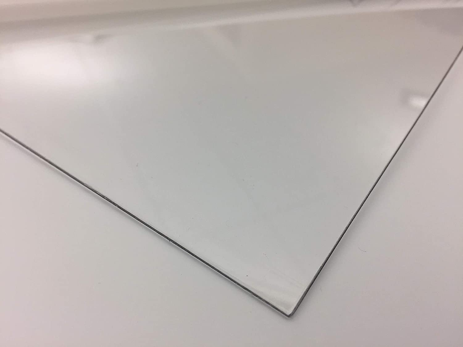 """.080/"""" x 24/"""" x 48/"""" Clear PETG Plastic Sheet Co-Polyester"""