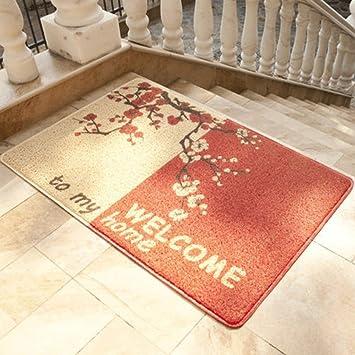 WTL Alfombras Antideslizantes Puzzle de ratón tapetes de Ratones Colchones Puerta de la habitación Cocina Recepción