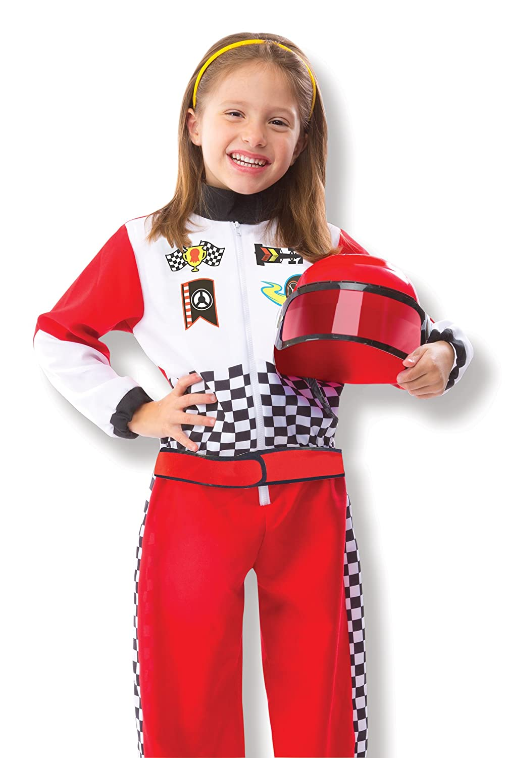 amazoncom race car driver f1 kids costume one size toys games