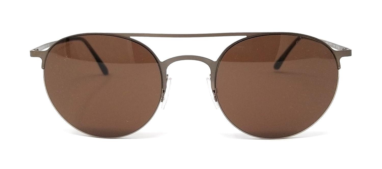 c3527da0f396 Amazon.com  Giorgio Armani AR6023 305773 Brown AR6023 Round Sunglasses Lens  Category 3 Lens  Giorgio Armani  Clothing