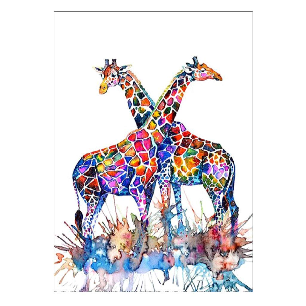 Shoresu Diamond Dotz - Giraffe - Full Diamond Painting Kit Cross Stitch Kit Home Decor Dabixx