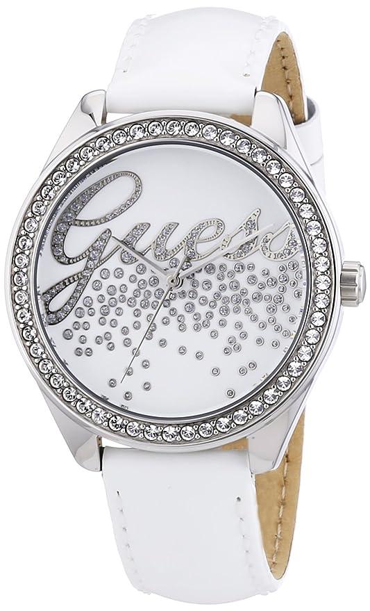 56bb7026e8 Authentique Marque Nouveau montre guess femme blanc pas cher,Parce ...