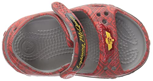edd97b80575101 crocs Kids  Cars Lightning McQueen Sandal  Buy Online at Low Prices in  India - Amazon.in