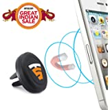 Tech Sense Lab® - MagBack® Airvent, Magnetic Mount for Android Phones, iPhones GPS with stong Neodymium Magnets, rotating head and Quick Snap® Technology. Perfect for Samsung, HTC, Xiaomi Blackberry mobile devices. ✔ Satisfaction Guaranteed ✔