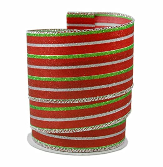 red lime green christmas decorations